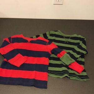 Bundle of 2 BabyGap shirts (2T)